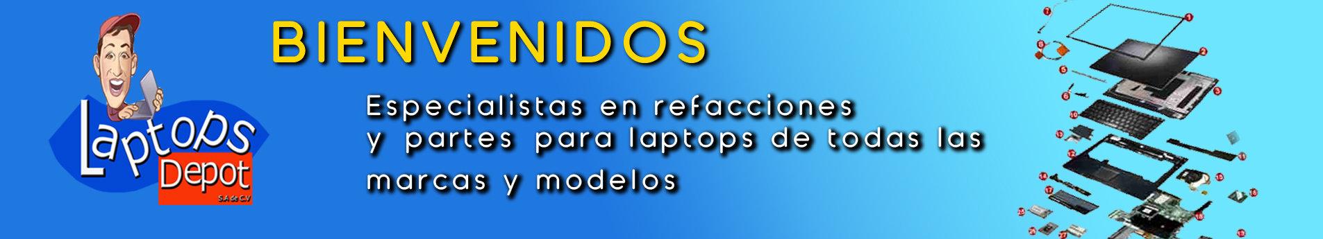 Refacciones para laptops, los mejores precios y calidad
