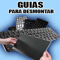 demonte de pantallas y teclados
